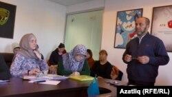 """Абдурешит Джеппаров җитәкчелегендә """"Солидарность"""" хәрәкәте жыелышы"""