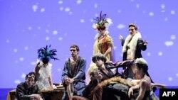 Один из спектаклей на Авиньонском театральном фестивале