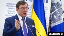Генеральный прокурор Украины Юрий Луценко.