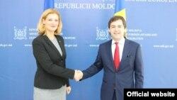 Ramona Mănescu și Nicu Popescu la Chișinău, 9 octombrie 2019