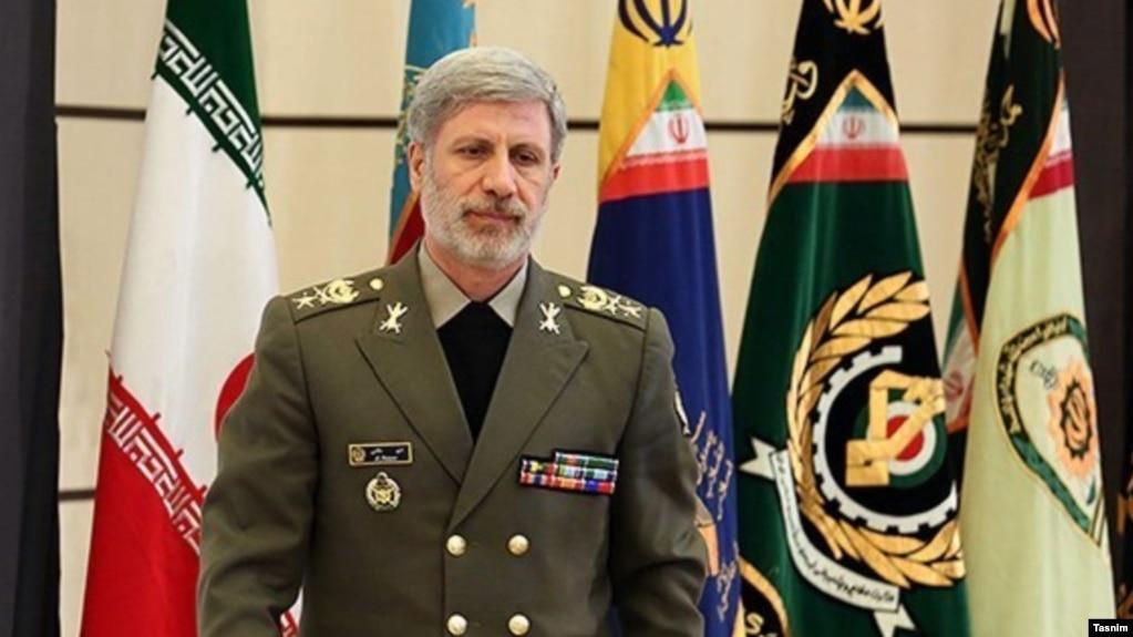Defense Minister Brigadier-General Amir Hatami. FILE PHOTO