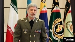 Defense Minister Brigadier-General Amir Hatami. FILE PHOTO