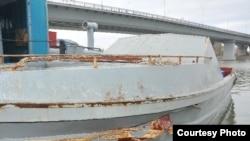 Конфискованная у браконьеров лодка. Каспийское море. Иллюстративное фото.