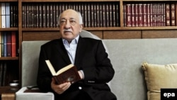 Exiled Turkish Islamist leader Fethullah Gulen (file photo)