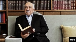 Fethullah Gulen poses during an interview at his residence in Pennsylvania in March 2014.