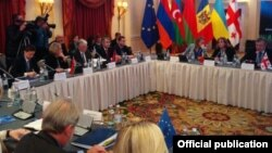 Արևելյան գործընկերության արտգործնախարարների ոչ պաշտոնական հանդիպումը Թբիլիսիում, 26-ը նոյեմբերի, 2015թ.