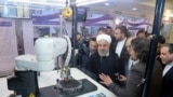 Eýranyň prezidenti Hassan Rohani Milli ýadro tehnologiýalar boýunça güni mynasybetli Tähranda geçirilen çärelere gatnaşdy, 9-njy aprel, 2018