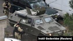 Վրաստան - Անվտանգության ուժերը հատուկ գործողության ժամանակ, Թբիլիսի, 22-ը նոյեմբերի, 2017թ․