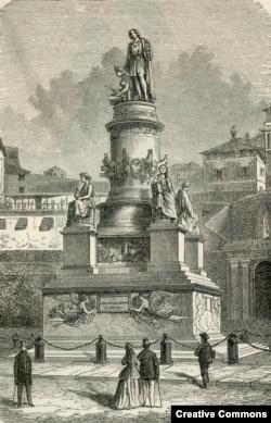 Генуэзский памятник Колумбу