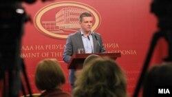 Министерот за информатичко општество и администрација Дамјан Манчевски.