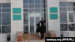 Есіл аудандық соты ғимараты. Астана, 19 қаңтар 2015 жыл.