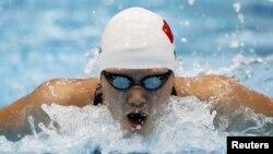 Ye Shiwen na Olimpijskim igrama u Londonu