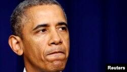 Barak Obama u Beloj kući govori o pucnjavi u Vašingtonu, 16. septembar 2013.
