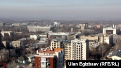 Панорама Бишкека. Иллюстративное фото.