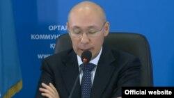 Председатель Национального банка Кайрат Келимбетов. Астана, 20 августа 2015 года.