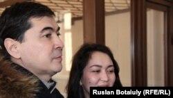 Табиғи монополияларды қорғау агенттігінің бұрынғы басшысы Мұрат Оспанов. Астана, 13 ақпан 2015 жыл.