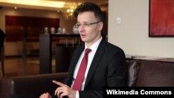 Унгарскиот министер за надворешни работи Питер Сијарто