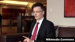 Șeful diplomației ungare Péter Szijjártó