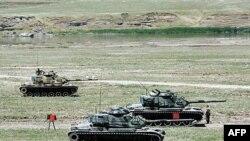 عملیات نظامی ارتش ترکیه برعلیه نیروهای پ ک ک