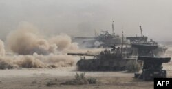 Вучэньні пакістанскага войска на мяжы зь Індыяй, 2016