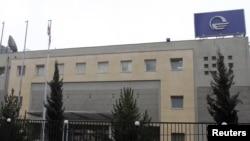 Imedi TV station in Tbilisi