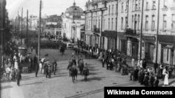 Вступление чехословацких войск в Иркутск, 1918 год