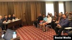 Заседание Конгресса башкирского народа в Уфе. Май 2017 года
