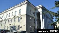 Здание городского совета и администрации Ялты