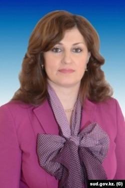Судья судебной коллегии по гражданским делам Верховного суда Ирина Калашникова.
