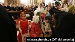 Пасха в Святогорской лавре