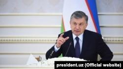 Өзбекстан президенті Шавкат Мирзияев