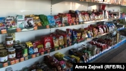 Jedna od prodavnica u mestu Babin Most na jugu Kosova