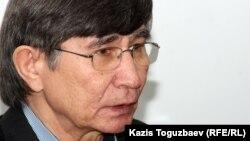 Жасарал Куанышалин, оппозиционный политик. Алматы, 22 января 2013 года.