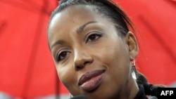 Romanciera franceză Marie Ndiaye. 2 noiembrie 2009