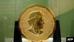 سکه طلا که متعلق به کشور کانادا است «برگ بزرگ درخت افرا» نام دارد و ارزش رسمیاش آن یک میلیون دلار است.