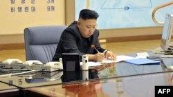 Лидерот на Северна Кореја Ким Јонг Ун