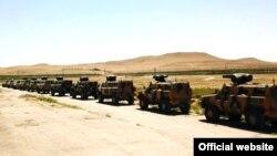 Azərbaycan ordusu hərbi təlimlərdə, 2 iyul 2018