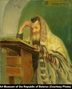 Ранішняя малітва. 1897 г.
