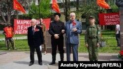 Митинг коммунистов в Симферополе 1 мая 2019 года