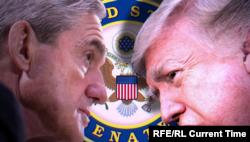 Специальный прокурор Роберт Мюллер и президент Дональд Трамп (Коллаж). Расследование возможного сговора избирательного штаба Трампа с Россией идет уже больше полутора лет