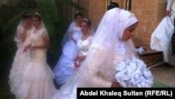 حفل زفاف جماعي في دهوك