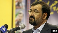محسن رضایی، دبیر مجمع تشخیص مصلحت نظام.
