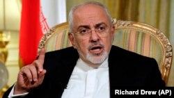Иран сыртқы істер министрі Мохаммад Жавад Зариф.