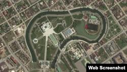 """Резиденция главы Чечни на """"Яндекс.Картах"""""""