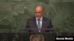 محمود صیقل سفیر افغانستان در ملل متحد