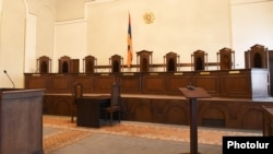 Armenia -- The main meeting room of the Constitutional Court, Yerevan, September 3, 2019.