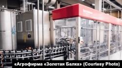 Новий завод агрофірми «Золота Балка» в Криму