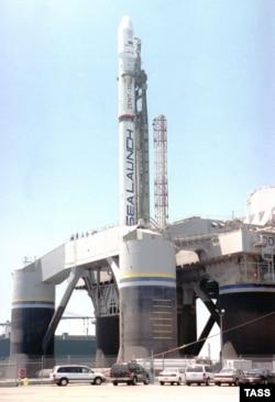 Плавуча платформа для пусків ракетоносіїв «Зеніт»