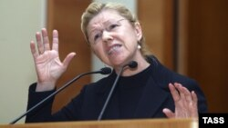 An online petition that calls for Yelena Mizulina to undergo a psychiatric evaluation has gathered more than 60,000 signatures.