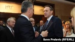 Milo Đukanović i Ranko Krivokapić